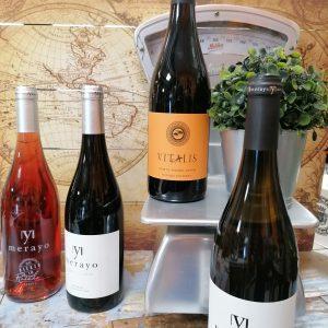 caja de vinos