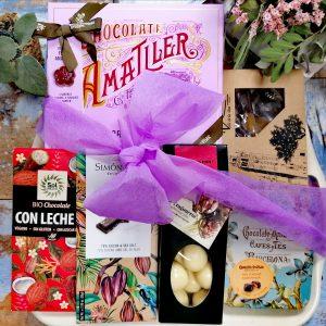 cesta de chocolates choco plalcer