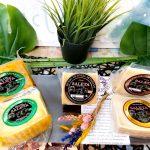 5 cuñas de queso de oveja