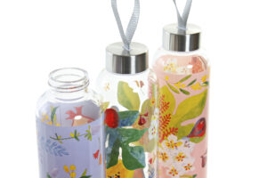 Botellas Flores y Frutas2